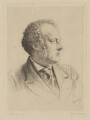 Sir John Everett Millais, 1st Bt, by Georges Labadie Pilotell, printed by  Jean Marie Delatre, after  Fradelle & Marshall - NPG D33172