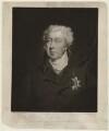 George James Cholmondeley, 1st Marquess of Cholmondeley, by William Brett, after  John Simpson - NPG D33188