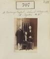 Francis Charles Hastings Russell, 9th Duke of Bedford; Sir Robert Nigel Fitzhardinge Kingscote; George William John Repton, by Camille Silvy - NPG Ax50350