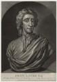 John Locke, by John Faber Jr, published by  Thomas Bowles Jr, and published by  John Bowles - NPG D31282