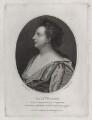 Elizabeth Barry, by Charles Knight, after  Sir Godfrey Kneller, Bt - NPG D31307