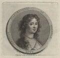 Gertrude Savile (née Pierrepont), Marchioness of Halifax, by Francesco Bartolozzi, after  Sir Peter Lely - NPG D31319