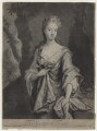 Mary Capel (née Bentinck), Countess of Essex, by and published by John Smith, after  Sir Godfrey Kneller, Bt - NPG D31331