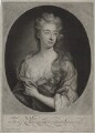 Elizabeth Southwell (née Cromwell), Lady Cromwell, by and published by John Smith, after  Sir Godfrey Kneller, Bt - NPG D31332