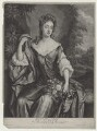 Madam D'Avenant, by and published by John Smith, after  Sir Godfrey Kneller, Bt - NPG D31337