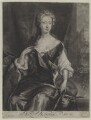 Henrietta Maria Wyvill (née Yarborough), Lady Wyvill, by and published by John Smith, after  Sir Godfrey Kneller, Bt - NPG D31347