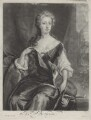 Henrietta Maria Wyvill (née Yarborough), Lady Wyvill, by and published by John Smith, after  Sir Godfrey Kneller, Bt - NPG D31348