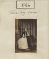 Lady Emily Georgiana Van de Weyer (née Craven), by Camille Silvy - NPG Ax50430
