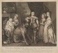 Five Children of King Charles I, by Richard Cooper, after  Sir Anthony van Dyck - NPG D32119