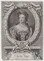Queen Anne, by Michael Vandergucht, after  Sir Godfrey Kneller, Bt - NPG D31369