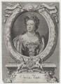 Queen Anne, by Michael Vandergucht, after  Sir Godfrey Kneller, Bt - NPG D31369