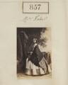 Jessie Montagu Kuhe (née Morris), by Camille Silvy - NPG Ax50458