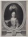 Prince James Francis Edward Stuart, by Gérard Edelinck, after  Nicolas de Largillière - NPG D31380
