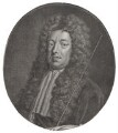 Sidney Godolphin, 1st Earl of Godolphin, by Jacobus Houbraken, published by  John & Paul Knapton, after  Sir Godfrey Kneller, Bt - NPG D31388