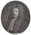Sidney Godolphin, 1st Earl of Godolphin, by Jacobus Houbraken, published by  John & Paul Knapton, after  Sir Godfrey Kneller, Bt - NPG D31388