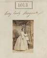 Lady Emily Marie Kingscote (née Curzon); Nigel Richard Fitzhardinge Kingscote, by Camille Silvy - NPG Ax50545