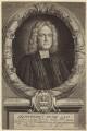 Humphrey Hody, by Michael Vandergucht, after  Thomas Forster - NPG D31466