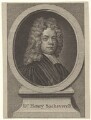 Henry Sacheverell, after Anthony Russel - NPG D31478
