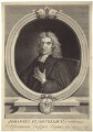John Flamsteed, by George Vertue, after  Thomas Gibson - NPG D31486