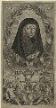 Lettice Cary (née Morison), Viscountess Falkland, by William Marshall - NPG D33241