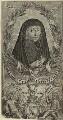 Lettice Cary (née Morison), Viscountess Falkland, by William Marshall - NPG D33242