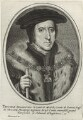 Thomas Howard, 3rd Duke of Norfolk, published by Balthasar Moncornet, after  Hans Holbein the Younger - NPG D33248