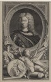 John Churchill, 1st Duke of Marlborough, by Jacobus Houbraken, published by  John & Paul Knapton, after  Sir Godfrey Kneller, Bt - NPG D31536
