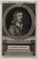 John Philips, after Sir Godfrey Kneller, Bt, published by  John Hinton - NPG D27311
