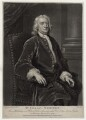 Sir Isaac Newton, by John Faber Jr, after  John Vanderbank - NPG D27324
