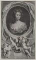 Sarah Churchill (née Jenyns (Jennings)), Duchess of Marlborough, by Jacobus Houbraken, published by  John & Paul Knapton, after  Sir Godfrey Kneller, Bt - NPG D27367