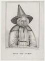 Jane Scrimshaw, by T. Maddocks, after  John Faber Sr - NPG D27393