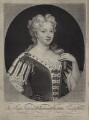 Caroline Wilhelmina of Brandenburg-Ansbach, by and published by John Smith, after  Sir Godfrey Kneller, Bt - NPG D27416