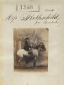 Annie Yorke (née de Rothschild), by Camille Silvy - NPG Ax50678