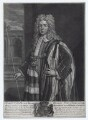 Thomas Pelham-Holles, 1st Duke of Newcastle-under-Lyne, by John Faber Jr, after  Sir Godfrey Kneller, Bt, published by  John Smith - NPG D27425