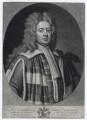 John Carteret, 2nd Earl Granville when Baron Carteret, by Peter Pelham, after  Sir Godfrey Kneller, Bt, published by  John Bowles - NPG D27427