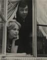 Leslie Caron; Sir Peter Hall, by Lewis Morley - NPG x131805