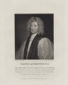 Francis Atterbury, by Robert Grave, after  George Perfect Harding, after  Sir Godfrey Kneller, Bt - NPG D27451