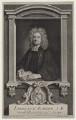 Laurence Echard, by George Vertue, after  Sir Godfrey Kneller, Bt - NPG D27460