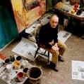Frank Auerbach, by Eamonn McCabe - NPG x131778