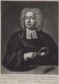John Theophilus Desaguliers, by Peter Pelham, after  Hans Hysing - NPG D27472