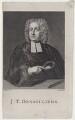 John Theophilus Desaguliers, by James Tookey, after  Hans Hysing - NPG D27473
