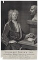 John Freind, by George Vertue, after  Michael Dahl - NPG D27556