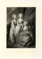 The three eldest daughters of King George III, by Arthur N. Sanders, after  Thomas Gainsborough - NPG D33317