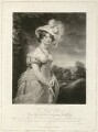Princess Augusta Sophia, by and published by Samuel William Reynolds, and by  Samuel Cousins, after  Sir William Beechey - NPG D33318