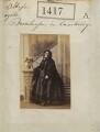 Princess Augusta Wilhelmina Louisa, Duchess of Cambridge, by Camille Silvy - NPG Ax50818