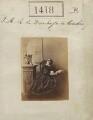 Princess Augusta Wilhelmina Louisa, Duchess of Cambridge, by Camille Silvy - NPG Ax50819