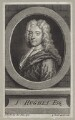 John Hughes, by Gerard Vandergucht, after  Sir Godfrey Kneller, Bt - NPG D27578