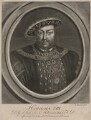 King Henry VIII, by Richard Houston, published by  Elizabeth Bakewell, published by  Henry Parker - NPG D33367