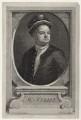 Sir Richard Steele, by George Vertue, after  Sir James Thornhill - NPG D27586
