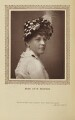 Katherine ('Kate') Munroe (Mrs Miles), by St James's Photographic Co, published by  David Bogue - NPG Ax9279
